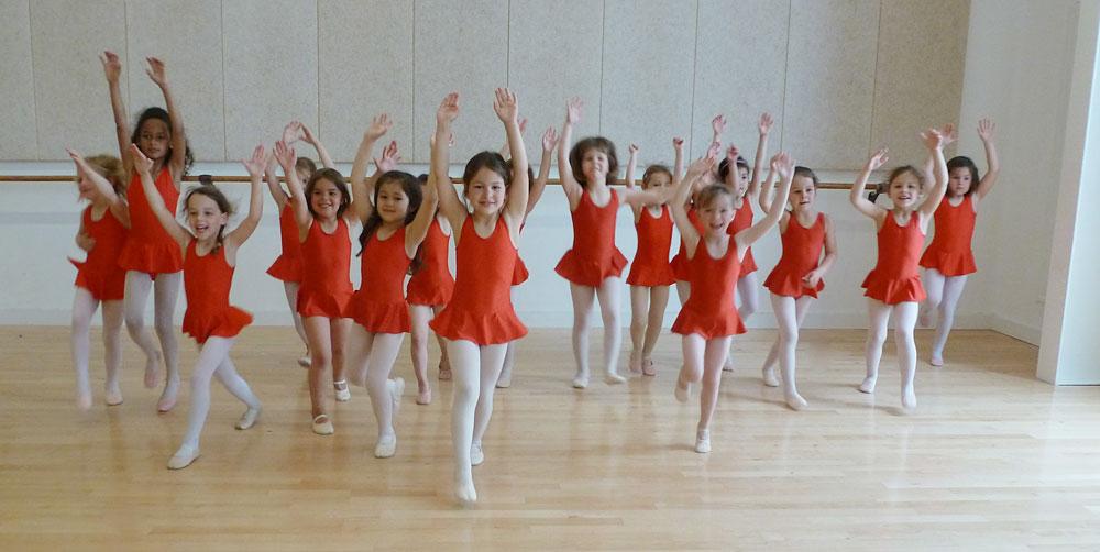 L'éveil à la danse, à partir de 4 ans