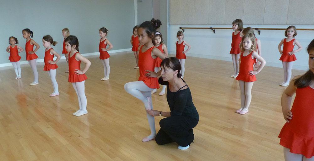 L'éveil à la danse développe la coordination et de l'équilibre chez l'enfant