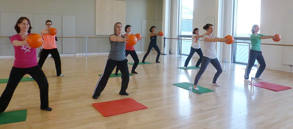 L'aéro-stretching est une méthode de gymnastique douce