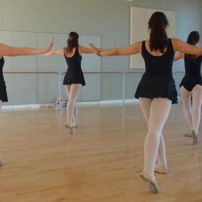 La Pratique De La Danse C'est Le Travail En Groupe Avec Les Enchainements