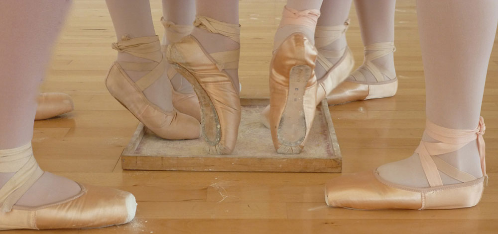 La danse classique c'est le travail de la tenue et du placement du corps