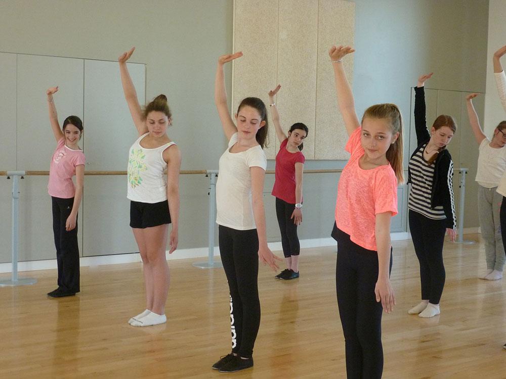 L'Ecole de Danse de Vitré propose des cours à partir de 9 ans